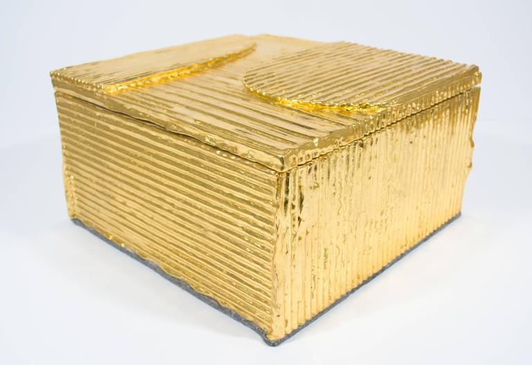 Red Gold Cardboard Box