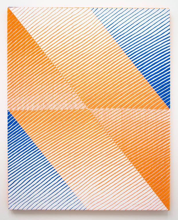 Samantha Bittman Abstract Painting - Untitled