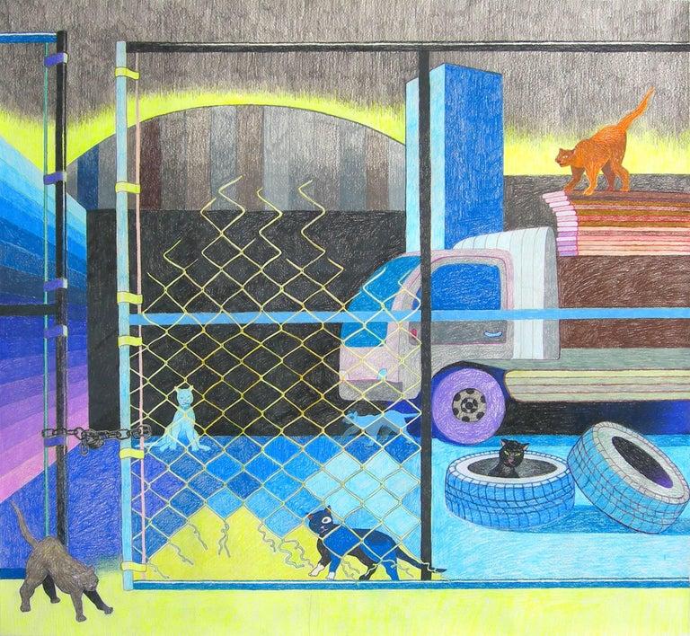 Leigh Ruple - Metropolitan Avenue (Study) 1