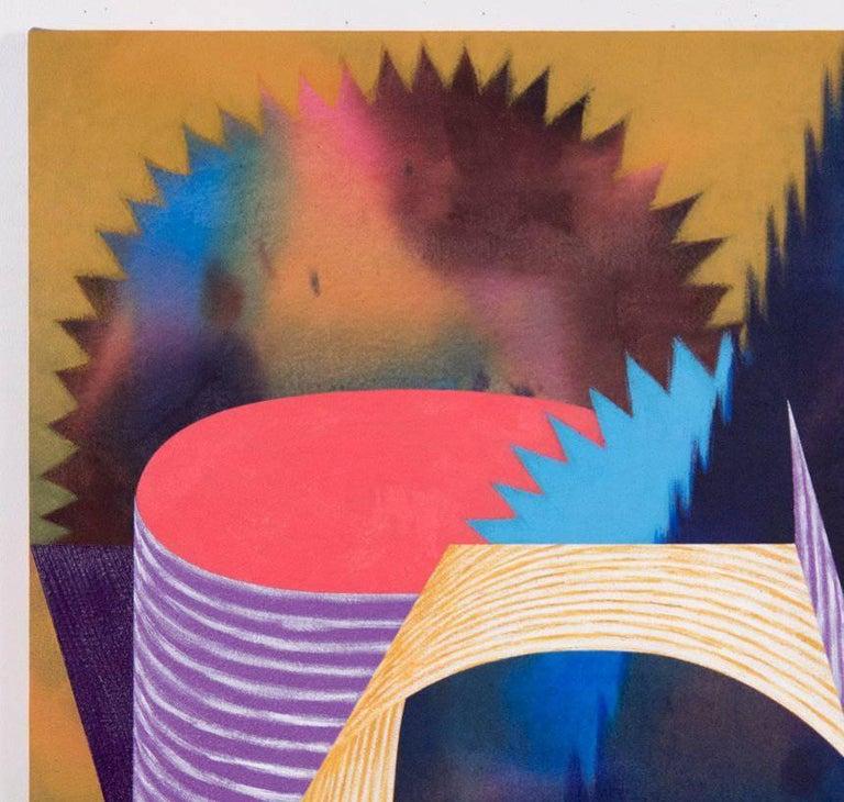 Doodad - Abstract Geometric Painting by Nichole van Beek