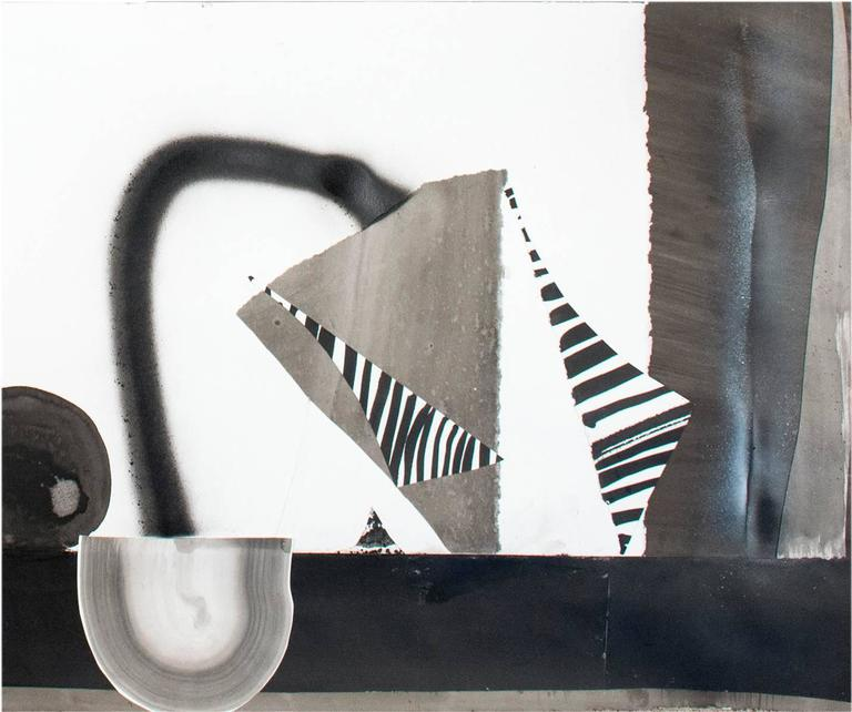 Wackers continues to play with notions of the familiar, creating dynamic and increasingly complex visual environments replete with recognizable yet ultimately unknowable objects. Wackers' works on paper use India ink and salt on watercolor paper.