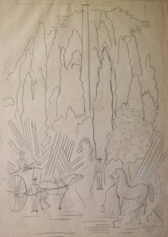 Study for Batavia (The Woodcutters)
