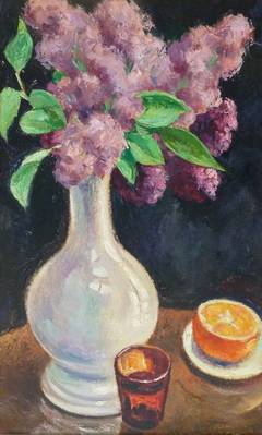 Bouquet of Lilacs and Orange