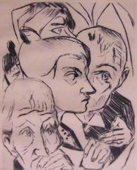 Illustration for Chapter Four, from: The Duchess  Die Fürstin