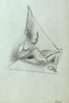 Surrealist Composition with Leg and Arm