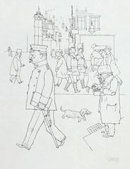 Matchseller and Patrol, from: In the Shadows  Streichholzverkäufer und Doppelst