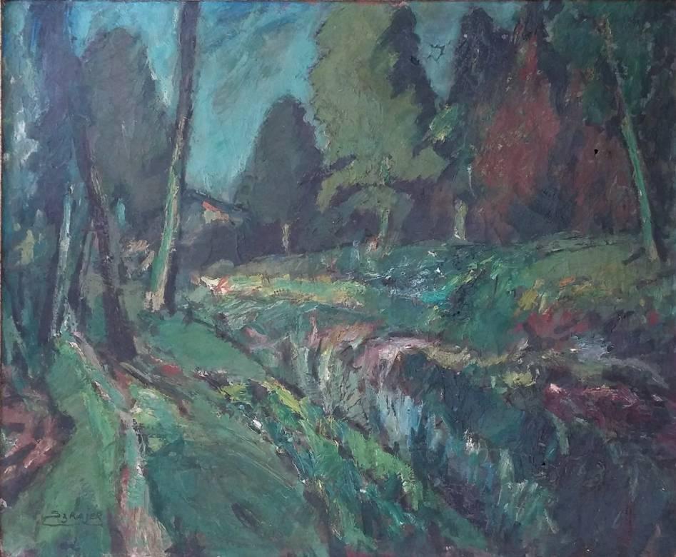 Landscape in Ville d'Avray, Paris
