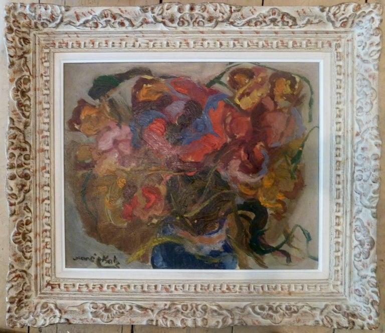 Mane Katz Still-Life Painting - Vase of Flowers