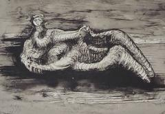 Henry Moore - Reclining Woman