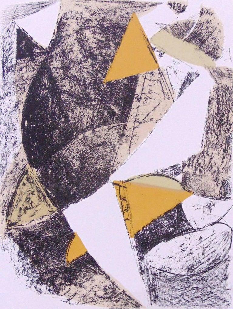 Marino Marini Figurative Print - Untitled  Senza Titolo