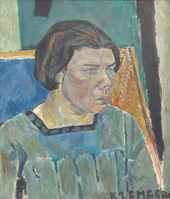 Female Portrait  Portrait de Femme