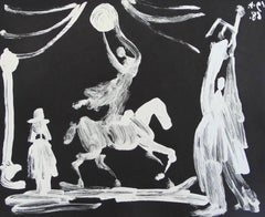 The Circus: Horsewoman, Clown and Pierrot, from: Suite 347