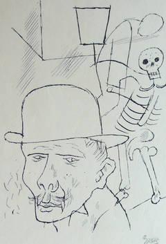 Death on the Street, from Die Schaffenden