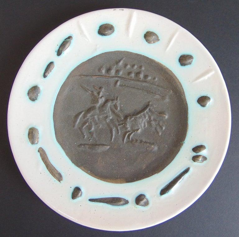 Pablo Picasso Figurative Sculpture - Picador and Bull