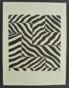 Composition en noir et blanc