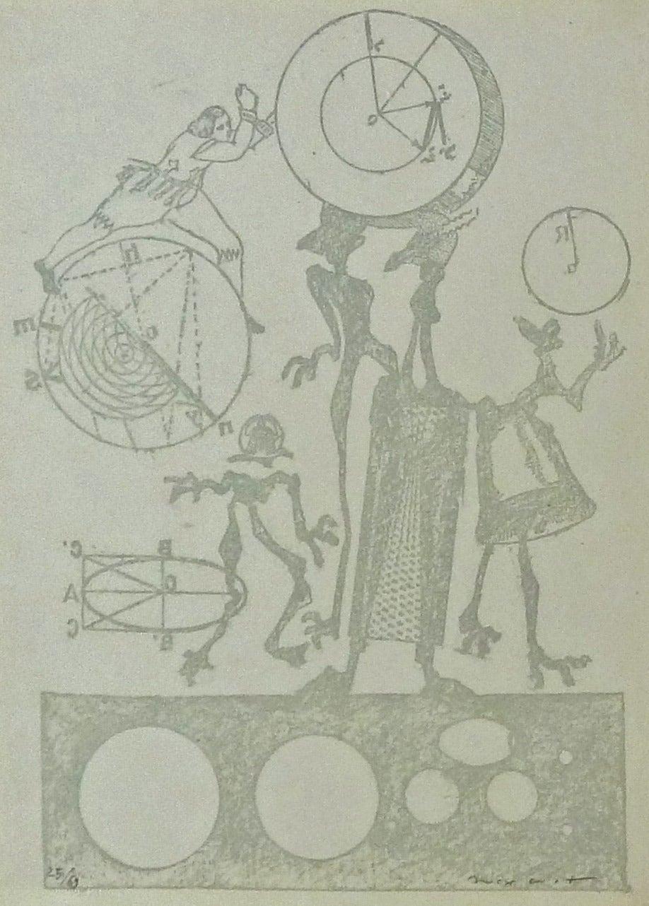 Plate 24, from Lewis Carroll's Wunderhorn