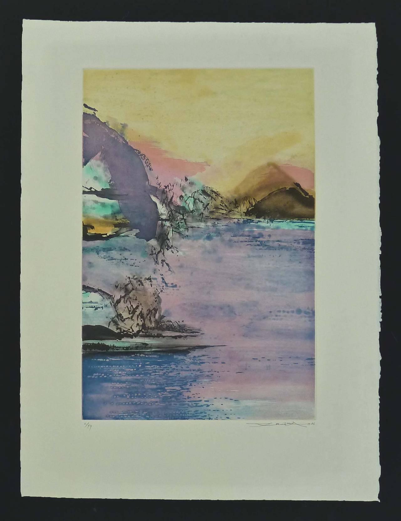 Etching No. 327 - Print by Zao Wou-Ki