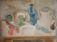 Still Life with Fish and Bottle