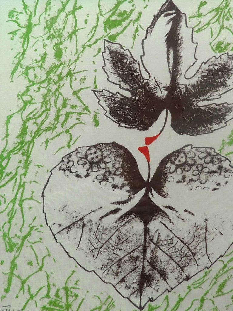 "Toyen Marie Cerminova Figurative Print - For ""The Alert Box"" from the International Surrealist Exhibition (EROS)"