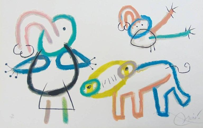 Composition XVI, from: Ubu's Childhood  L'Enfance d'Ubu