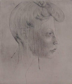 Head of Woman, In Profile