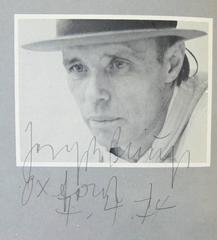 Catalogue for Joseph Beuys: The Secret Block For a Secret Person In Ireland