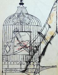 Bird in a Cage and Shoe