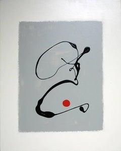 Black Drip, Red Dot 1