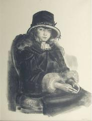 Anne in a Black Hat