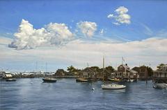 Nantucket Harbor, Late August