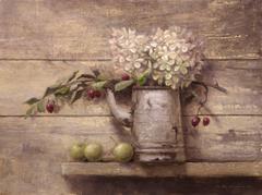 Hydrangeas, Crabapple, and Wild Apples, Psalms 37:3