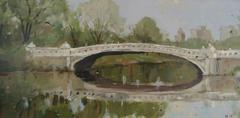 Bow Bridge, study in Spring
