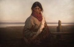Peasant Shepherd Girl