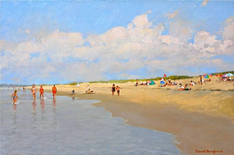 David Bareford Landscape Painting - Beach Time