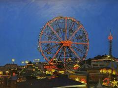 Wonder Wheel at Night