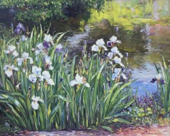 White & Purple Iris