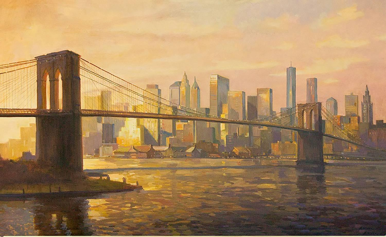 Luxury Brooklyn Bridge Wall Art Sketch - The Wall Art Decorations ...