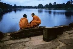 Monks on Causeway