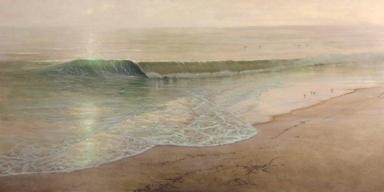Thomas Kegler Landscape Painting - Break at Dawn, Psalm 139:0-10