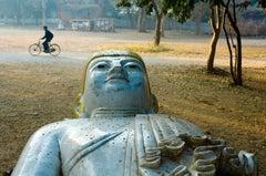 Buddha and Bicycle, Mandalay, Burma