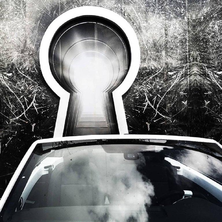Debranne Cingari Black and White Photograph - Key to My Heart
