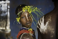 Child Adorned with Flowers