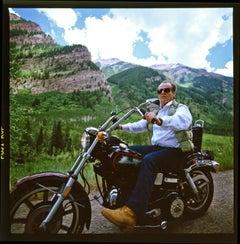 Jack Nicholson, on the motorcycle, Aspen