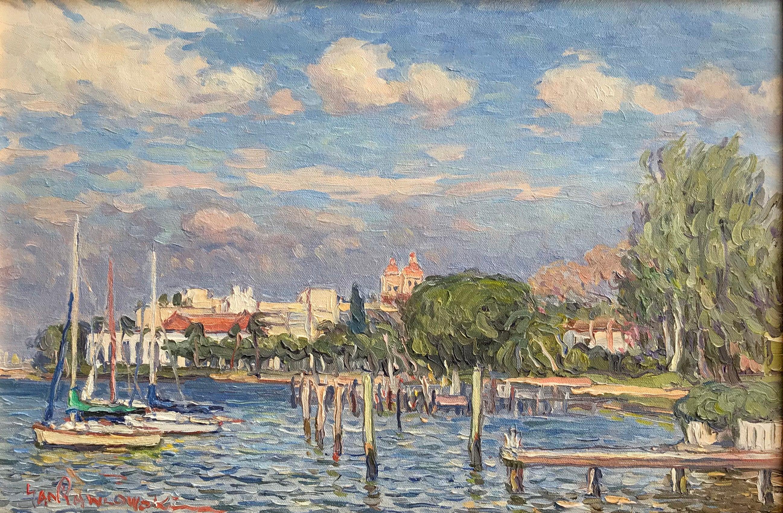 View from the Royal Palm Beach Bridge