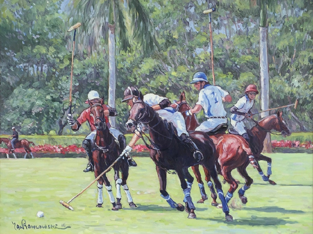 Polo Game in Wellington, Florida