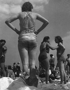 Woman on Beach, Coney Island