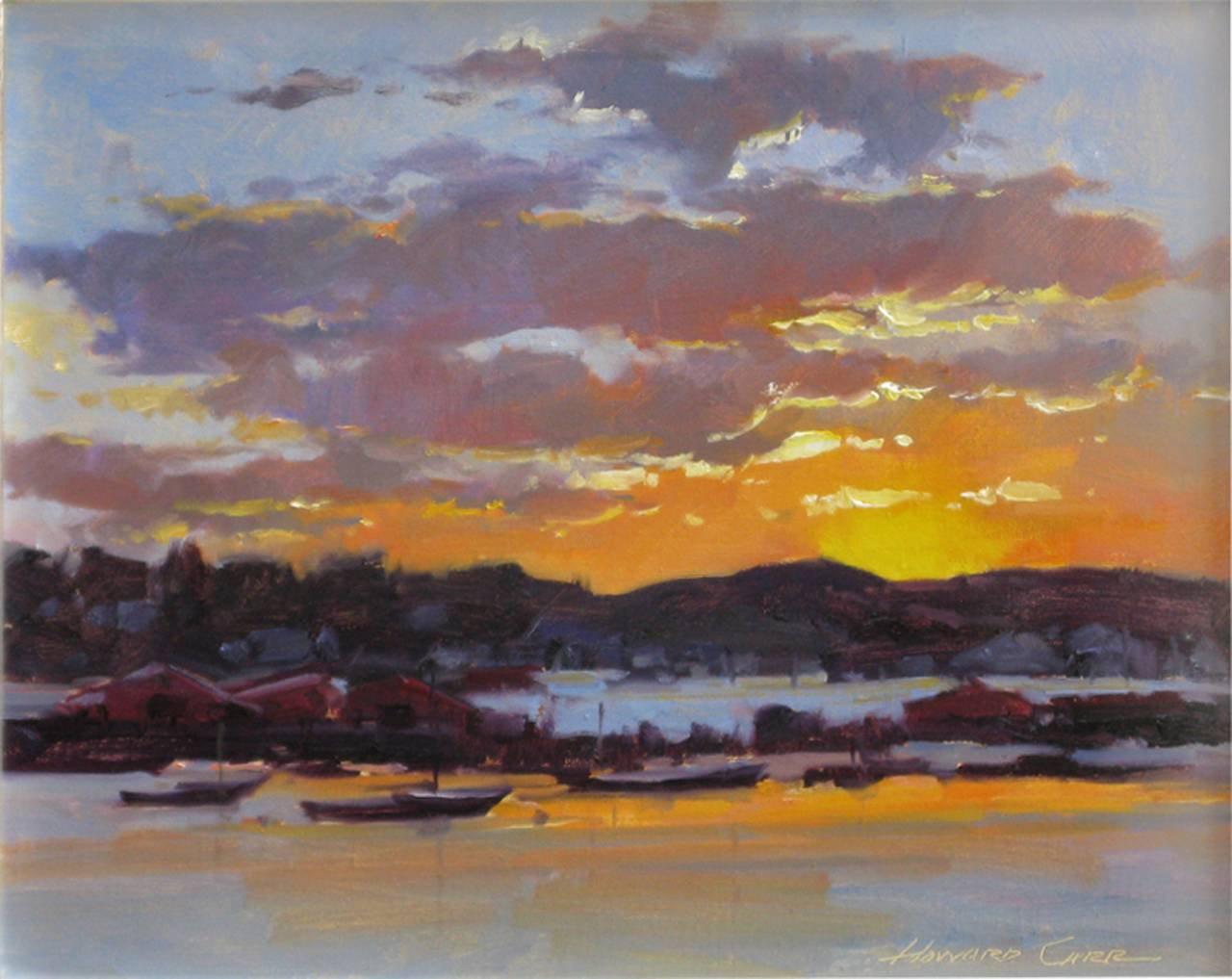 Howard Carr Best Time Of Day Painting For Sale At 1stdibs