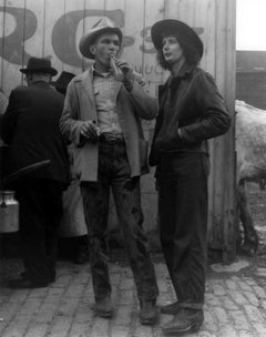 Couple at the Horse Auction, Brooklyn, New York
