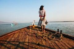 Girl on Ship Prow