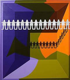 Arrangement #4, Paper People, 1970